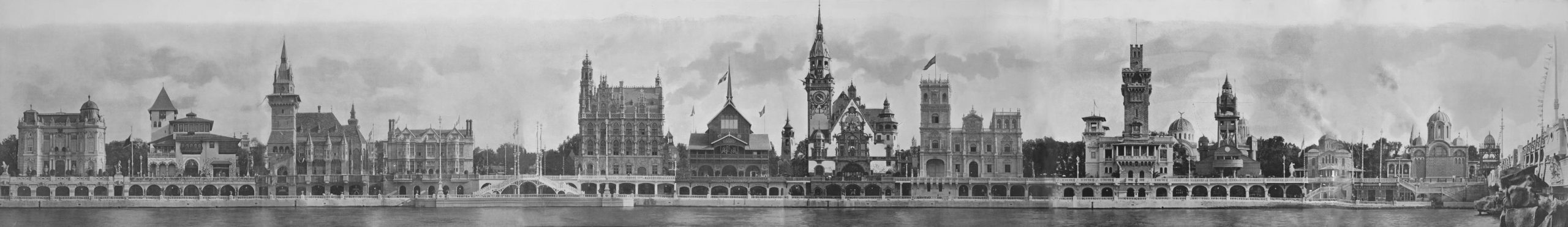 Panorama_of_foreign_pavilions_at_the_1900_Paris_World_Fair
