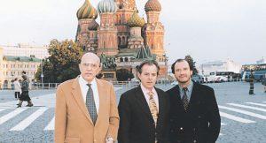 JR en Moscú